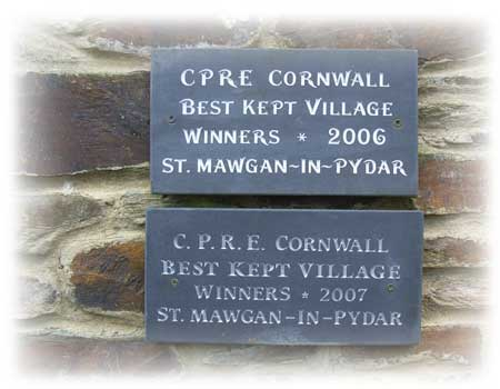 CPRE Cornwall Best kept village